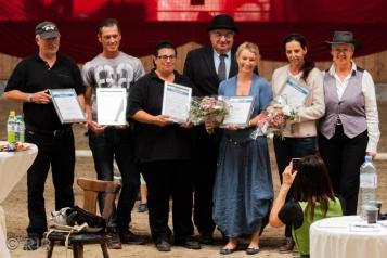 Österreichische Friesenzuchtschau 2016 - Verleihung von Sportprädikaten