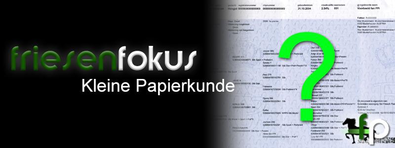 FriesenFokus: Kleine Papierkunde